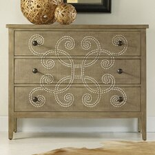 <strong>Hooker Furniture</strong> Melange Curlacue 3 Drawer Chest