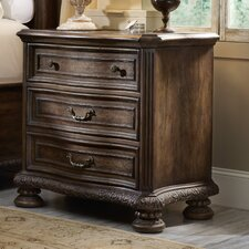 Rhapsody 3 Drawer Nightstand