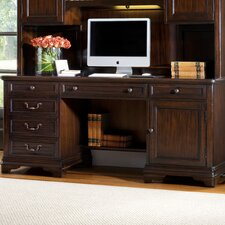 <strong>Hooker Furniture</strong> Sheridan Computer Desk with Hutch