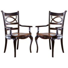 Preston Ridge Oval Back Arm Chair (Set of 2)