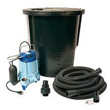 3000 GPM CS-SS Pre-Packaged Crawl Space Sump System