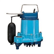 "1/3 HP ""Eliminator"" Submersible Sump Pump with Remote Float"