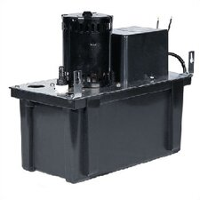 1/18 HP 1 Gallon ABS Tank - Type  Automatic Condensate Removal Pump