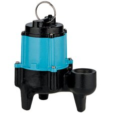 "1/2 HP 10SN-CIM Manual Sewage Pump with 3"" Discharge"