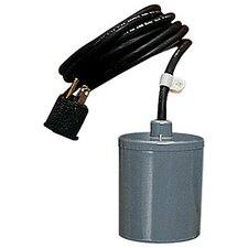 115/230 V, 3/4-2 hp - Piggyback remote (wide angle) float