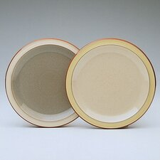 "<strong>Denby</strong> Fire 9"" Cream / Yellow Salad Plate"