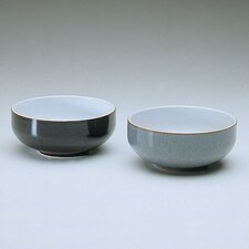 "<strong>Denby</strong> Jet 6"" Black Soup / Cereal Bowl"