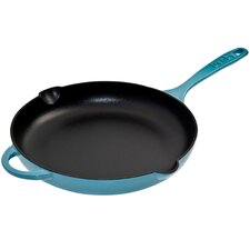 "Cook and Dine Azure 10"" Skillet"