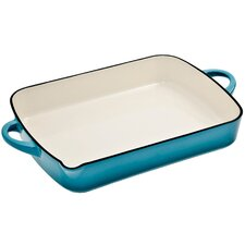 "Cook and Dine Azure 12.5"" Oblong Dish"