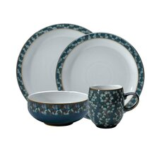 Azure Shell 4-Piece Place Setting