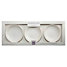 "<strong>Denby</strong> Monsoon Lucille 4"" Dipping Bowl (Set of 3)"