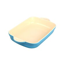 "Cook and Dine Azure Oven to Table 10"" Medium Oblong Dish"