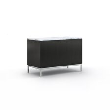 "Florence 37.5"" Two Position Credenza with Six Drawers"