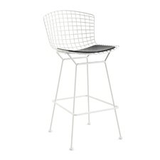 "Bertoia 29.25"" Bar Stool with Seat Pad"
