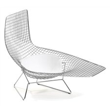 Bertoia Asymmetric Chaise with Seat Pad