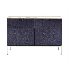 Florence Two Position Credenza with Two Files