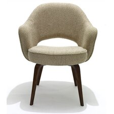<strong>Knoll ®</strong> Saarinen Executive Armchair with Wood Leg
