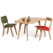 Risom Child's Amoeba Table and Chair Set