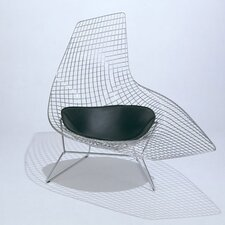 <strong>Knoll ®</strong> Bertoia Asymmetric Chaise with Seat Pad