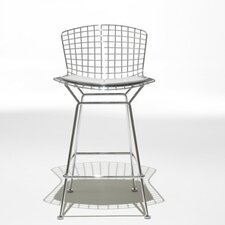 Bertoia Counter Stool with Seat Pad