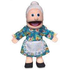 """14"""" Granny Glove Puppet in Peach"""
