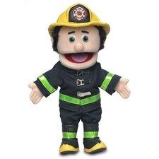 """14"""" Caucasian Fireman Glove Puppet"""
