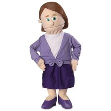 "<strong>Silly Puppets</strong> 30"" Sarah Professional Puppet with Removable Legs in Peach"