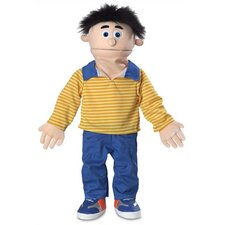 "<strong>Silly Puppets</strong> 30"" Bobby Professional Puppet with Removable Legs in Peach"