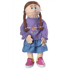 "<strong>Silly Puppets</strong> 30"" Amy Professional Puppet with Removable Legs in Peach"