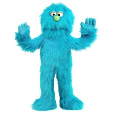 "30"" Blue Monster Puppet"