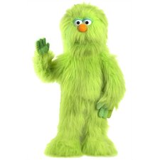 "<strong>Silly Puppets</strong> 30"" Green Monster Puppet"
