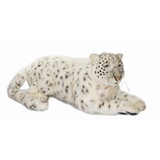 Large Siberian Snow Leopard Stuffed Animal