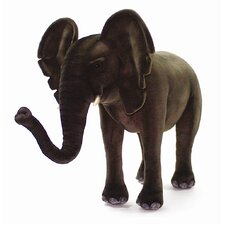 Ride-On Elephant Stuffed Animal