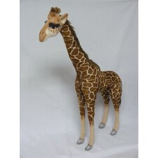 <strong>Hansa Toys</strong> Ride-On Giraffe Stuffed Animal