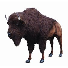 <strong>Hansa Toys</strong> Ride-On Life Size American Buffalo Stuffed Animal