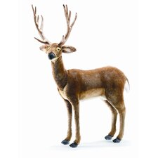 Ride-On White Tail Deer Stuffed Animal