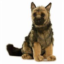 <strong>Hansa Toys</strong> German Shepherd Puppy Stuffed Animal