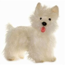 <strong>Hansa Toys</strong> West Highland Terrier Dog Stuffed Animal