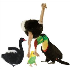 <strong>Hansa Toys</strong> Birds From Around the World Stuffed Animal Collection II