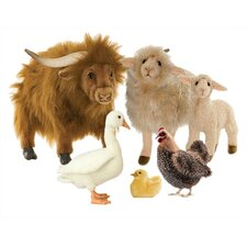 <strong>Hansa Toys</strong> Farm Stuffed Animal Collection II