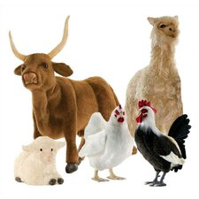 <strong>Hansa Toys</strong> Barnyard Stuffed Animal Collection II