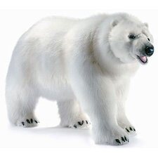 Life Size Walking Polar Bear Stuffed Animal