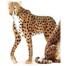 Life Size Standing Cheetah Stuffed Animal