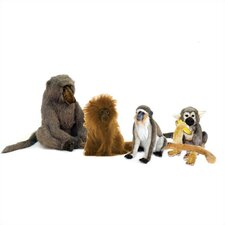 Monkey Stuffed Animal Collection IV