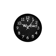 Whatever 3D Wall Clock
