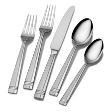 20 Piece Dawson Frost Flatware Set