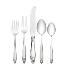 Sterling Silver Prelude 5 Piece Lunch Flatware Set