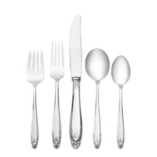 Sterling Silver Prelude 5 Piece Flatware Set