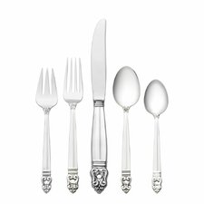 Royal Danish 66 Piece Flatware Set
