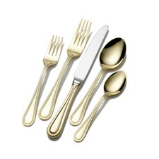 65 Piece Continental Bead Flatware Set